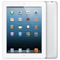 Apple iPad 4 with Retina Display 16GB with Wi-Fi + 4G cellular White белый