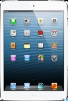 Apple iPad Mini 16GB with Wi-Fi White & Silver белый